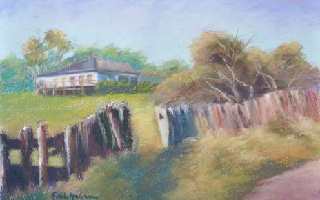 wall art of landscapes