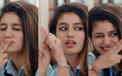 Priya Prakash Varrier's Bollywood Debut
