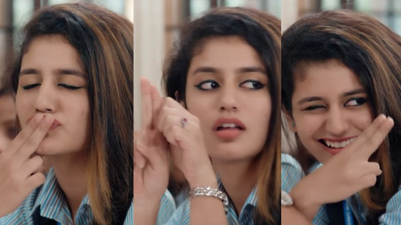 Priya Prakash Varrier's Bollywood Debut