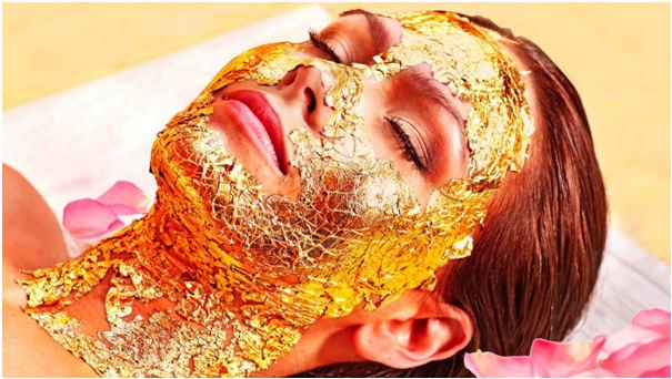 24 karat gold face mask