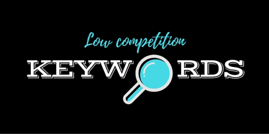 find low competition keywords list
